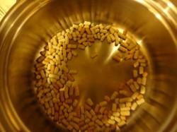 鍋に入れたマクロビワン