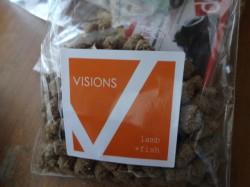 VISIONS オリジナルドッグフード ラム&フィッシュ【子羊肉&魚】