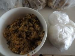 いつも食べている冷凍した白米